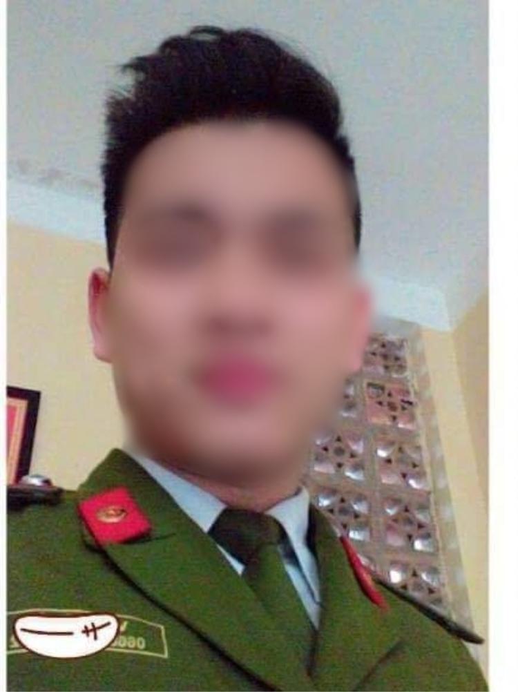 Chiến sĩ công an Võ Thế T. bất ngờ tử nạn trên đường đi công tác về.