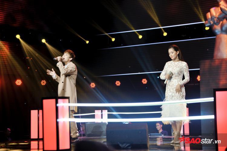 Alvin Lu - Y Lux được HLV Tóc Tiên giữ lại.