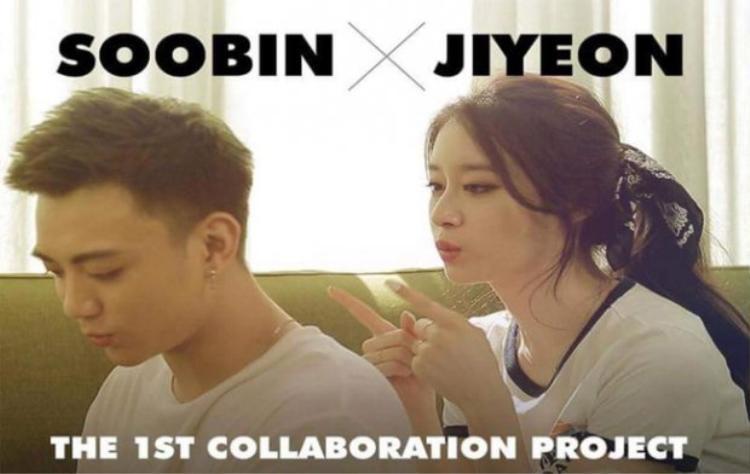 Hình ảnh của Soobin và Jiyeon trong dự án hợp tác đặc biệt.