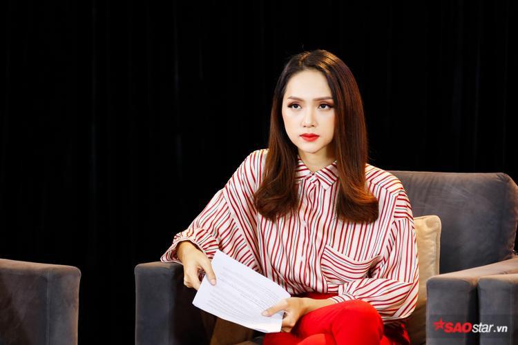 … do HH Hương Giang làm host