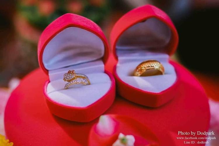 Ngay cả nhẫn cưới cũng mang đạm hình bóng của chú mèo