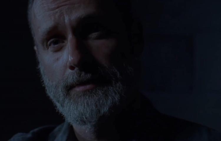Rick dành thời gian trò chuyện cùng Negan.