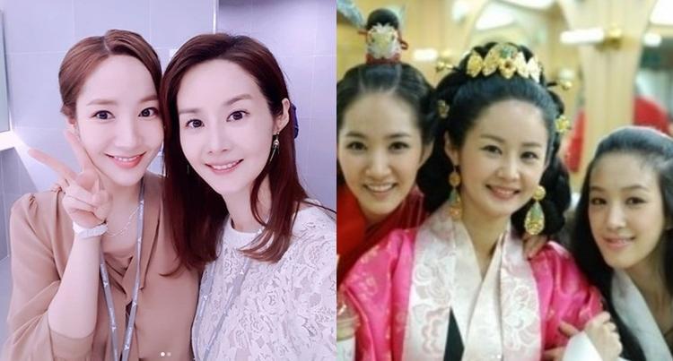 Hai bức ảnh được nữ diễn viên 45 tuổi đăng trên instagram.