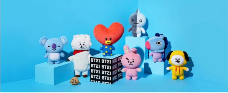 Nhân vật BT21 được thiết kế dựa trên những nét vẽ của chính 7 thành viên nhóm BTS.