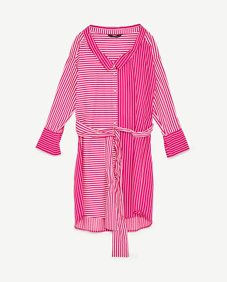 Chiếc váy phom rộng mà cô mặc có giá chỉ 999.000 đồng.