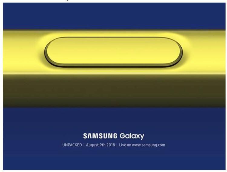 Thư mời ra mắt sản phẩm của Samsung cũng ngầm xác nhận bút S-Pen sẽ là điểm nhấn chính.