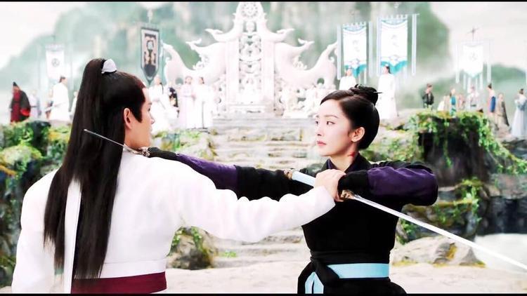 Yến Kinh Trần đấu võ cùng Phù Dao trong trận Điền đấu cuối cùng