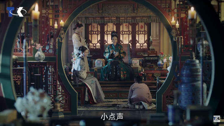 Cao Quý phi và Gia tần trị tội Nguỵ Anh Lạc.