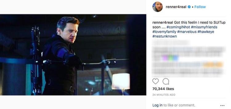 Avengers 4: Jeremy Renner chắc chắn sẽ quay trở lại, nhưng với tư cách là Ronin chứ không phải Hawkeye