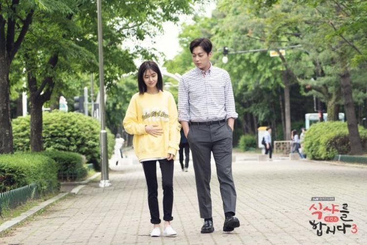 Yoon Doojoon và Baek Jin Hee