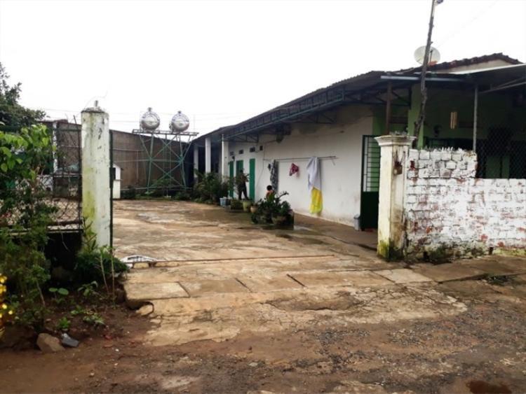 Khu nhà bà Hà thuê - nơi chị Y Nhiêu bị tra tấn trong quá trình làm thuê ở đây. Ảnh: báo Lao Động.