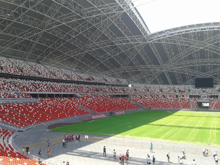 Sân vận động Quốc gia Singapore.
