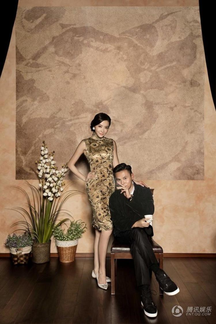Sau khi chia tay với Quách Phú Thành, chân dài Cbiz chụp ảnh cưới với chồng đại gia Quách Khả Tụng.