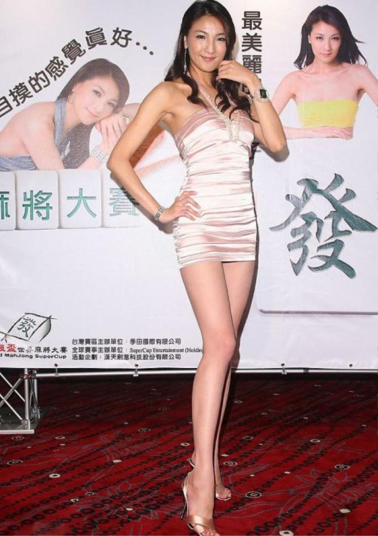 Cặp chân dài nuột nà của mỹ nhân xứ Đài.