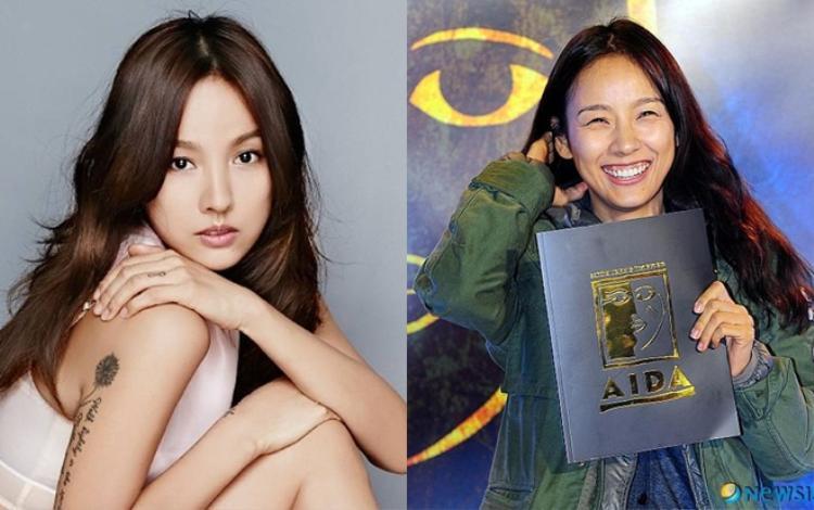 """Lee Hyori có nụ cười rất thân thiện tuy nhiên do bị hở lợi nên có phần """"mất điểm"""" so với hình ảnh lạnh lùng của cô nàng."""