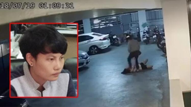 Tomboy đánh đập bạn gái dã man dưới hầm xe ở Thái Lan đã bị bắt giữ!