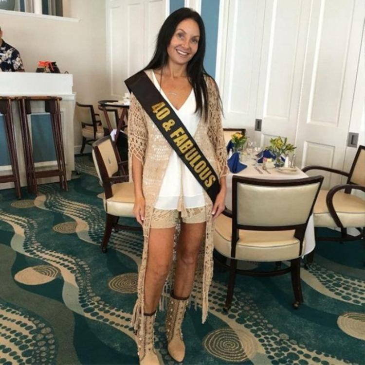 Shari Manchon, 40 tuổi đến từ Palm Beach, Florida, Mỹ. Ảnh The Sun