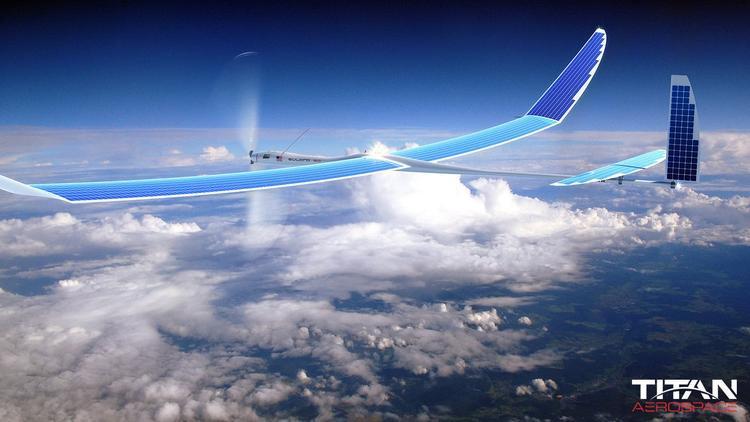 Trên nền tảng thâu tóm Titan Aerospace, Google có một dự án phát Internet từ máy bay không người lái.