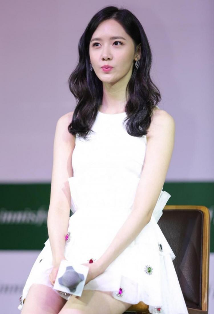 Yoona gây ấn tượng mạnh trong lần đến Việt Nam vào năm ngoái.