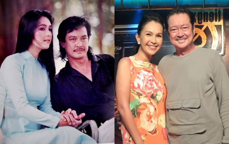 Từng là một cặp đôi đẹp trên màn ảnh nhưng không có duyên đến với nhau, hơn 30 năm sau Nguyễn Chánh Tín và Diễm My vẫn là những người bạn thân thiết.