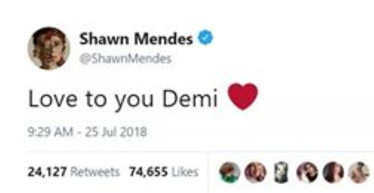 Loạt siêu sao gửi mưa lời chúc, nguyện cầu tốt lành cho Demi Lovato!