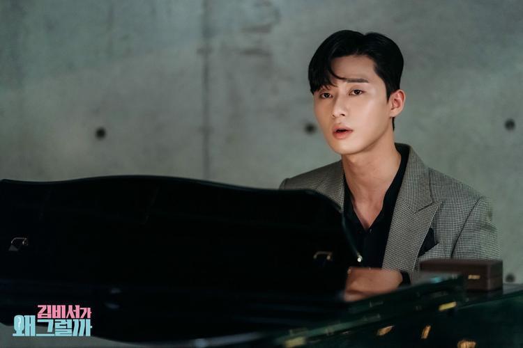Tập 15 'Thư ký Kim': Park Seo Joon đàn hát quyết định cầu hôn Park Min Young