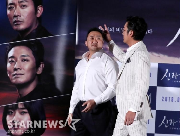 """Mãi một lúc sau Ma Dong Seok mới biết mình bị """"troll""""."""