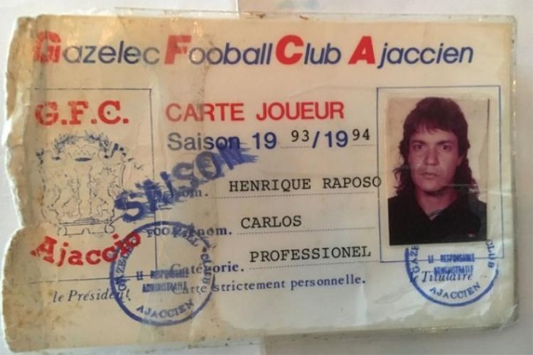 Hồ sơ Carlos Kaiser tại CLB Gazélec Ajaccio.
