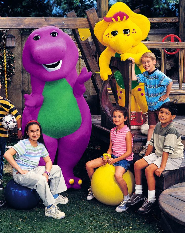 Barney chính là nơi khởi đầu cho tình bạn đẹp này.