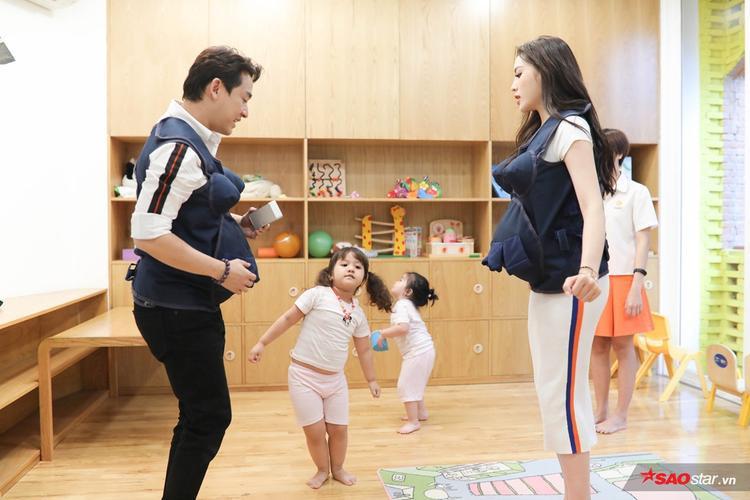 Hứa Vĩ Văn  Kỳ Duyên lao đao khi gia đình nhỏ bỗng xuất hiện thêm đến 4 công chúa khóc nhè