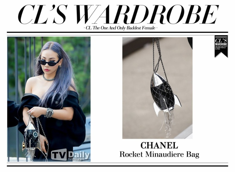 CL của 2NE1 đã từng đeo chiếc túi kiểu dáng độc lạ này.