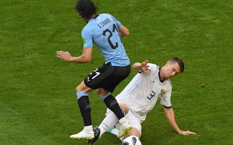 Cavani thi đấu rất tốt tại World Cup 2018. Ảnh: Fifa.com.
