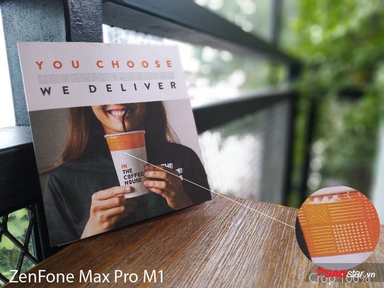 Chụp ảnh xóa phông là điểm đáng chú ý của Max Pro M1.