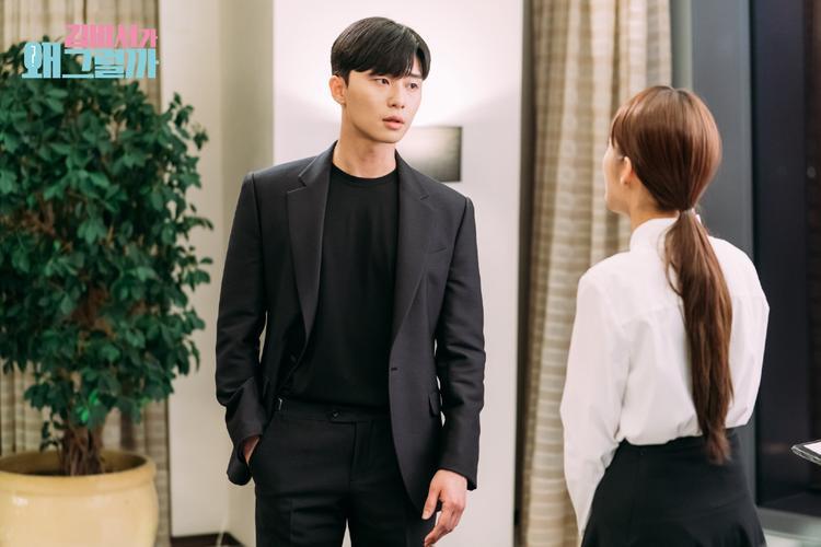 Những ngày đầu chưa dám thể hiện hết tình cảm trong lòng của Lee Young Joon.