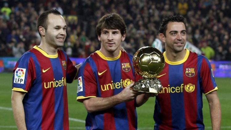 Những ngôi sao từng trưởng thành từ lò La Masia từng đem đến cho Barca những vinh quang. Ảnh: FC Barcelona.com.