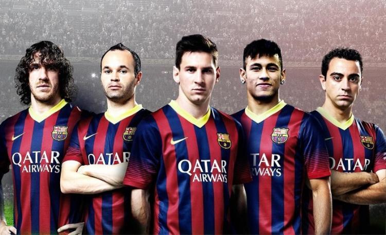 Messi trở thành một phần nguyên nhân dẫn đến sự sa sút của lò La Masia. Ảnh: Pinterest.