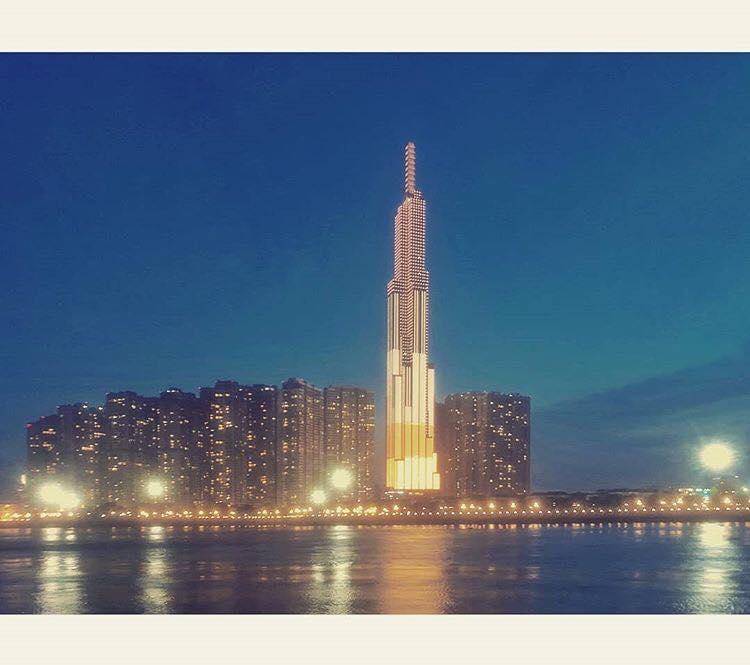 Landmark 81 nhìn từ view bên kia sông Sài Gòn. Ảnh: @v.u.o.n.g.n.g.u.y.e.n.