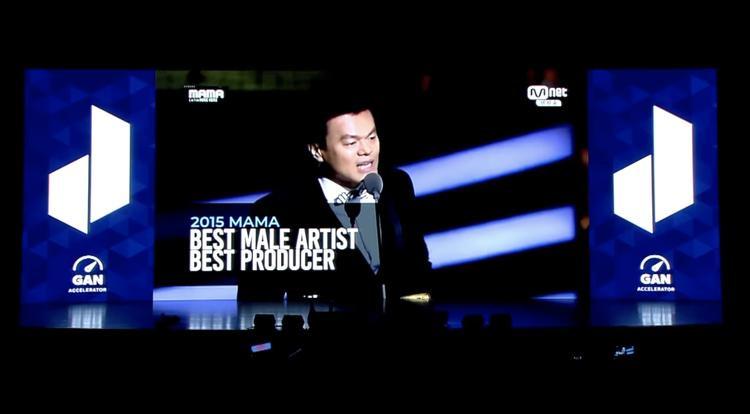 Phần giới thiệu trước màn xuất hiện của Park Jin Young tại hội nghị ởMacquarie.