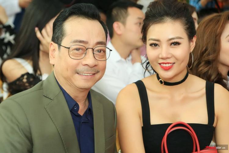 NSND Hoàng Dũng - diễn viên Quỳnh búp bê Thanh Hương.