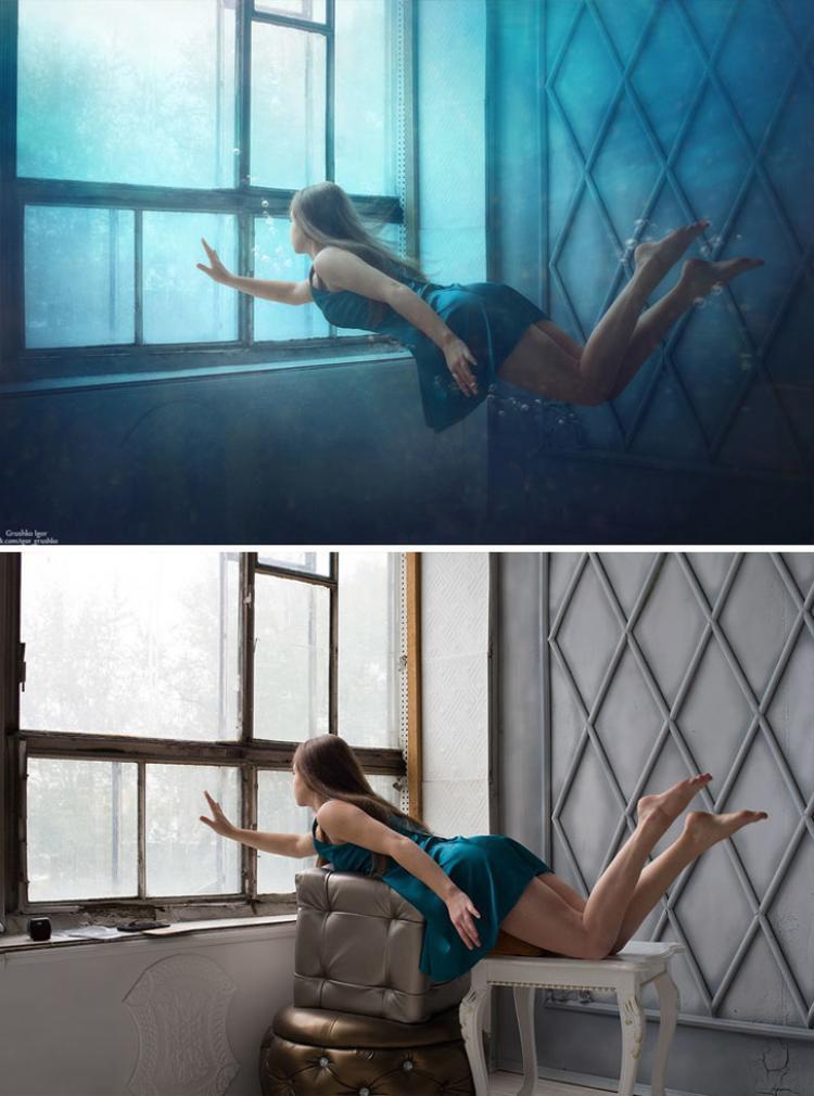 Khả năng Photoshop là một chuyện, sự sáng tạo của người chỉnh sửa cũng là một yếu tố tạo ra sự thành công và thú vị của những tấm hình này.