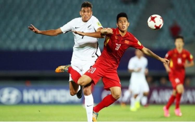 Đình Trọng là cầu thủ quan trọng nơi hàng thủ của U23 Việt Nam.