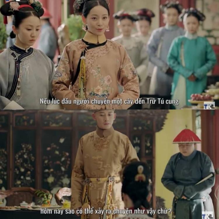 """Lúc Hoàng thượng đang nổi giận với Cao Quý phi, Thuần phi """"đổ thêm dầu vào lửa"""" bằng vài câu nói tưởng chừng nhẹ nhàng nhưng đầy thâm ý."""