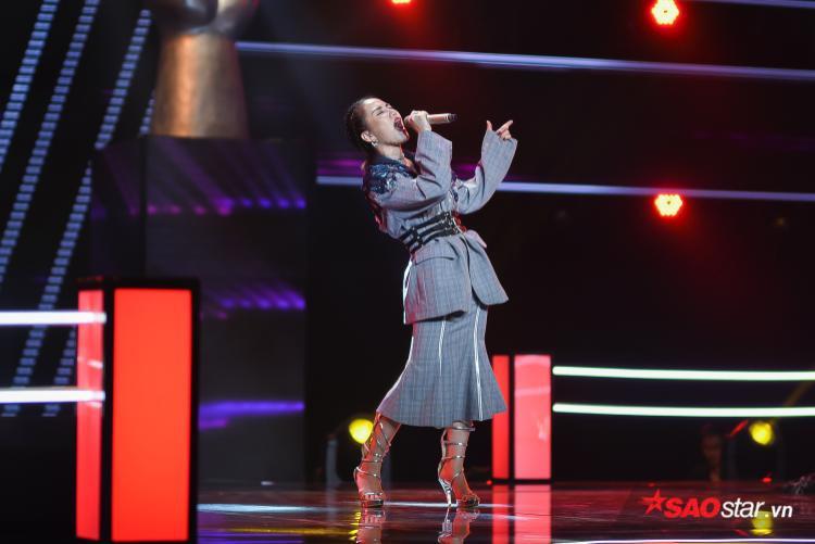 Học trò HLV Lam Trường - Hương Giang thể hiện đầy nội lực với ca khúc Bang bang.