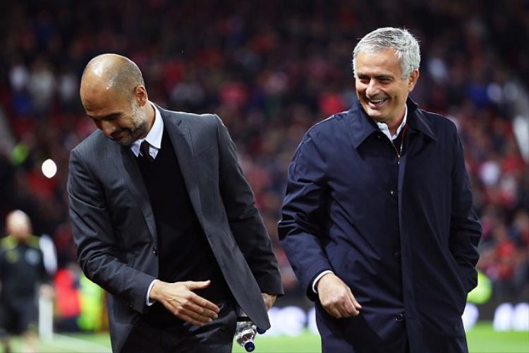 Mourinho thua xa Pep về khả năng sử dụng những cầu thủ trẻ. Ảnh: Getty.