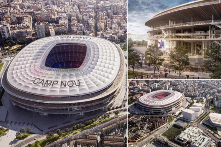 Barca rao bán tên sân Nou Camp với giá 300 triệu euro.