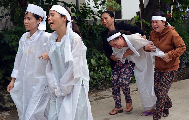 Cả làng quê Lương Điền chảy máu. Ảnh: Tri Thức Trẻ.