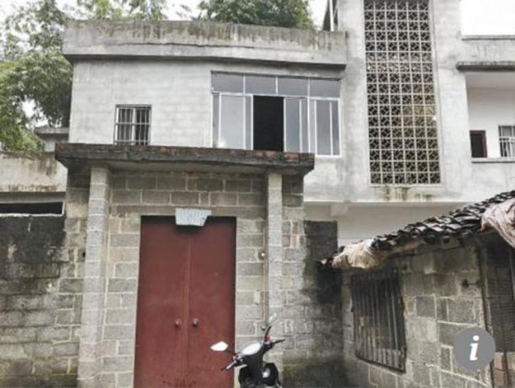 Ngôi nhà mà ông Ximing và cháu trai ở.