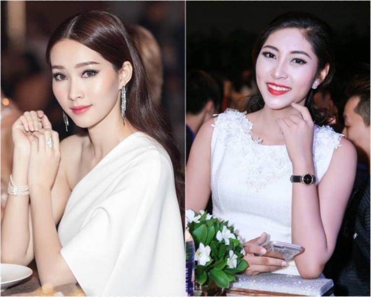 Hoa hậu Việt Nam 2012 Đặng Thu Thảo từng chia sẻ gặp phiền toái vì nhiều lần bị phóng viên gọi điện hỏi về việc đóng phim của đàn em Hoa hậu Đại dương.