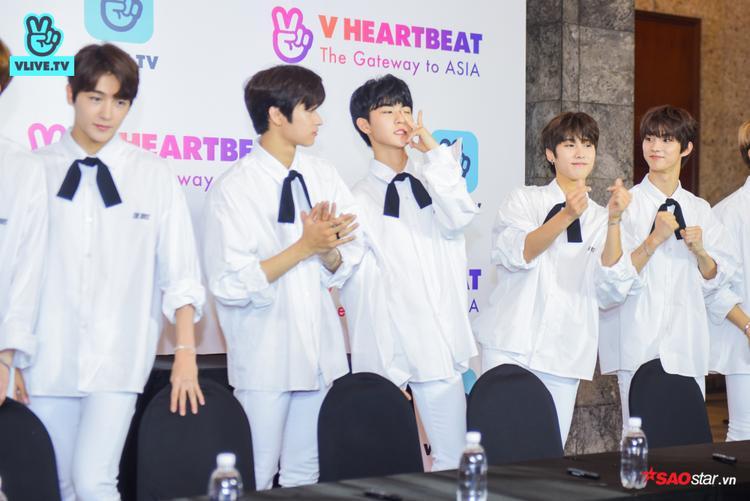 Là một boygroup với số lượng thành viên khá lớn: 12, họ nhanh chóng thu hút sự chú ý bởi phong cách nam sinh thanh lịch, tỏa sáng ngời ngời!