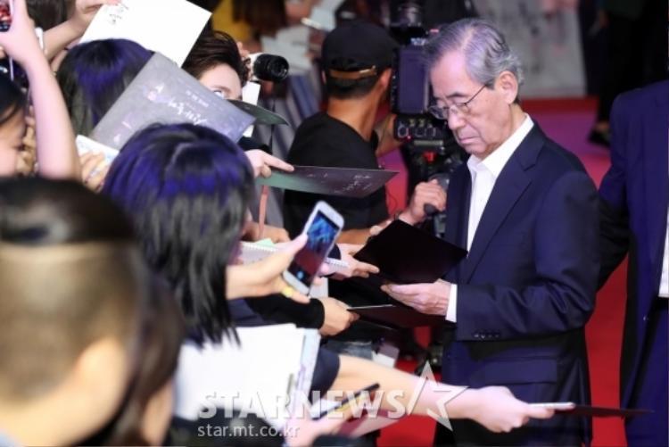 Diễn viên Nam Il Woo, ông là chủ nhà của nhân vật Gia thần Sung Ju.